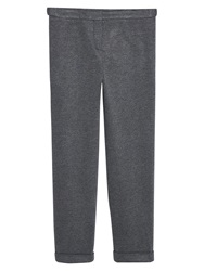 Violeta By Mango Pinstripe Suit Trousers Grey