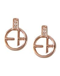 Emporio Armani Jewellery Earrings Women Copper