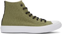 Converse Green Reflective Chuck Taylor All Star Ii High Top Sneakers