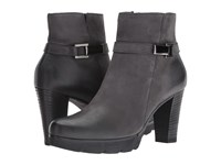 Paul Green Jolie Bootie Iron Leather Women's Boots Pewter