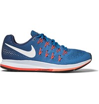 Nike Running Air Zoom Pegasus 33 Mesh Sneakers Blue