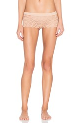 Commando Double Take Boy Short Beige