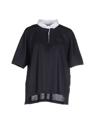 Fabiana Filippi Topwear Polo Shirts Women Dark Blue