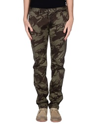 Blauer Casual Pants Military Green
