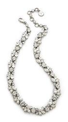 Ben Amun Crystal Wreath Necklace