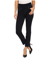 Jag Jeans Amelia Pull On Slim Ankle Comfort Denim In After Midnight After Midnight Women's Jeans Black