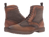 Steve Madden Siftt Tan Multi Men's Lace Up Boots Brown