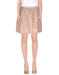 Hope Collection Skirts Mini Skirts Women Light Pink