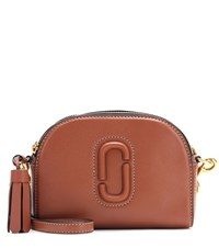 Marc Jacobs Leather Crossbody Bag Brown