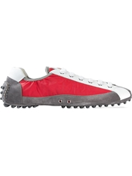 Car Shoe Moccasin Sole Sneakers Red