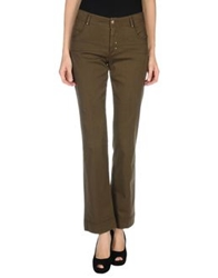 D.Exterior Casual Pants Military Green