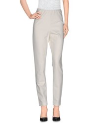 Donna Karan Trousers Casual Trousers Women Ivory