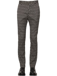 All Apologies 17Cm Polka Dot Cool Wool Jacquard Pants