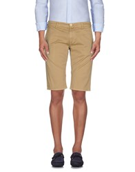 Manuel Ritz Trousers Bermuda Shorts Men Red