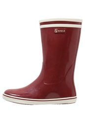Aigle Malouine Wellies Bordeaux