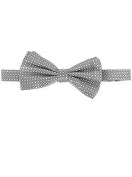 Canali Dotted Bow Tie Grey
