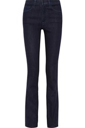 J Brand Cameron High Rise Bootcut Jeans Dark Denim