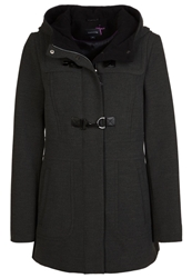 Comma Short Coat Black Anthracite