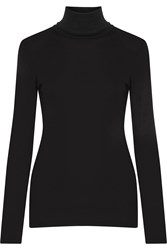 Splendid Supima Cotton And Micro Modal Blend Turtleneck Top