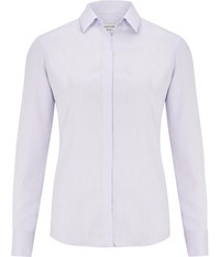 Austin Reed Lilac Herringbone Shirt Purple
