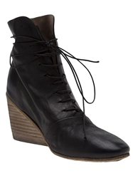 Marsell Wedge Ankle Boot Black