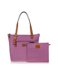 Bric's X Bag Medium 3 In One Tote Violet