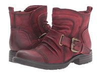 Earth Jericho Wine Vintage Women's Shoes Burgundy