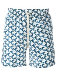 La Perla 'Savage Land' Swimming Shorts Blue