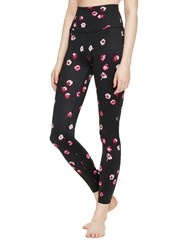 Kate Spade Falling Floral High Waist Back Bow Legging