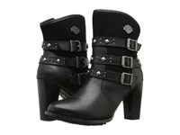 Harley Davidson Abbey Black Women's Zip Boots