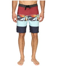 Rip Curl Mirage Sections Boardshorts Red 1 Men's Swimwear