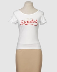 Sundek Short Sleeve T Shirts Black