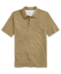 Weatherproof Men's Heather Pocket Polo