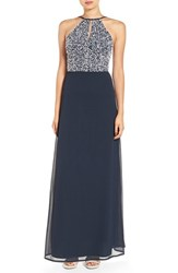 Lace And Beads Women's 'Pam' Sequin Maxi Dress