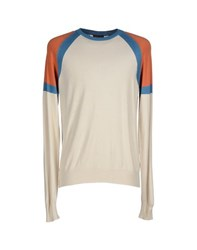Mas_Q Knitwear Jumpers Men Beige