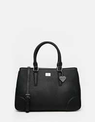 Marc B Brook Tote Bag With Detachable Shoulder Strap Black
