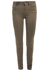 Noisy May Nmextreme Lucy Slim Fit Jeans Ivy Green Oliv