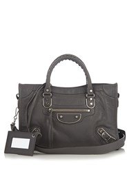 Balenciaga Classic Metallic Edge City Small Leather Bag