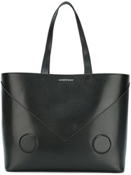 Emporio Armani Large Tote Bag Black