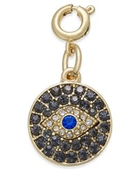 Inc International Concepts Gold Tone Crystal Eye Charm Only At Macy's