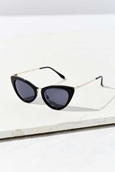Urban Outfitters Retro Slim Cat Eye Sunglasses Black