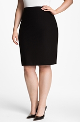 Eileen Fisher Pencil Skirt Plus Size Black