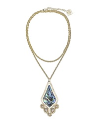 Kendra Scott Teresa Abalone Pendant Necklace
