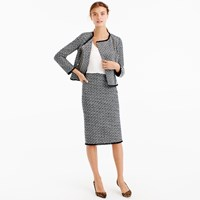 J.Crew Pencil Skirt In Fringy Tweed