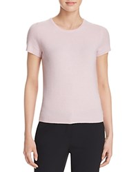 Bloomingdale's C By Short Sleeve Cashmere Sweater Ballet Slipper