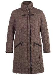 Chesca Quilted Coat Mink