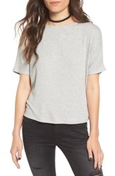 Project Social T Women's Ribbed Open Back Tee