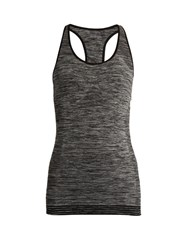 Pepper And Mayne Racer Back Performance Tank Top Grey
