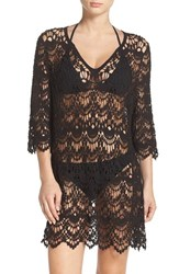 Surf Gypsy Women's Crochet Cover Up Tunic
