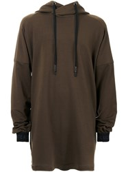 Strateas Carlucci Oversized Hoodie Green
